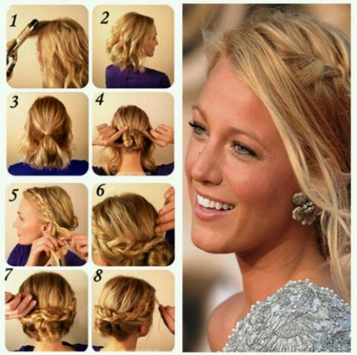 Blake Lively S Gorgeous Updo Hair And Beauty