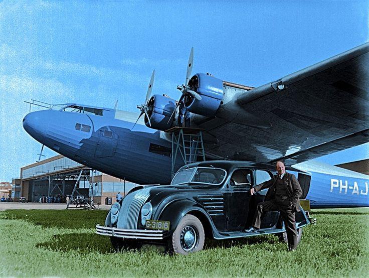 Fokker FXXXVI and it designer Anthony F...