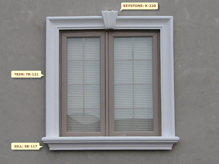 Windows Exterior Design Stucco Window Trim  Smooth Fauxcrete Trim  Golden State Stucco .