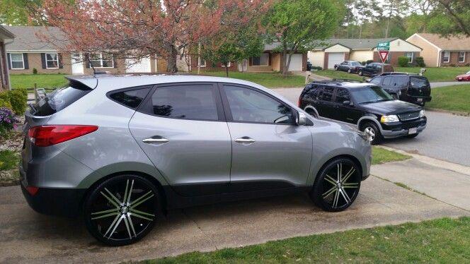 Toyota Tacoma Mods >> Custom Hyundai Tucson | Kustom Hyundai | Pinterest | Tucson