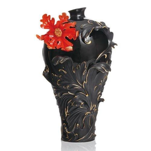 FZ02148 Franz Porcelain Baroque Red Lily Edition Brand New Spectacular   eBay