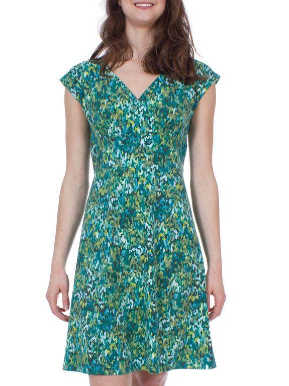 Royal Robbins Essential Plein Air Dress (Dark Aqua)