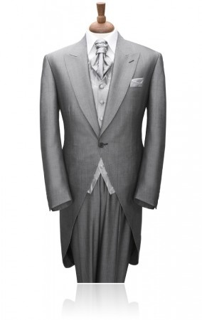 Grey Mohair Morning Suit by Torre  £294.99 #tuxedo #wedding #groom    Our popular Torre morning suit recently featured in the RM magazine wedding special