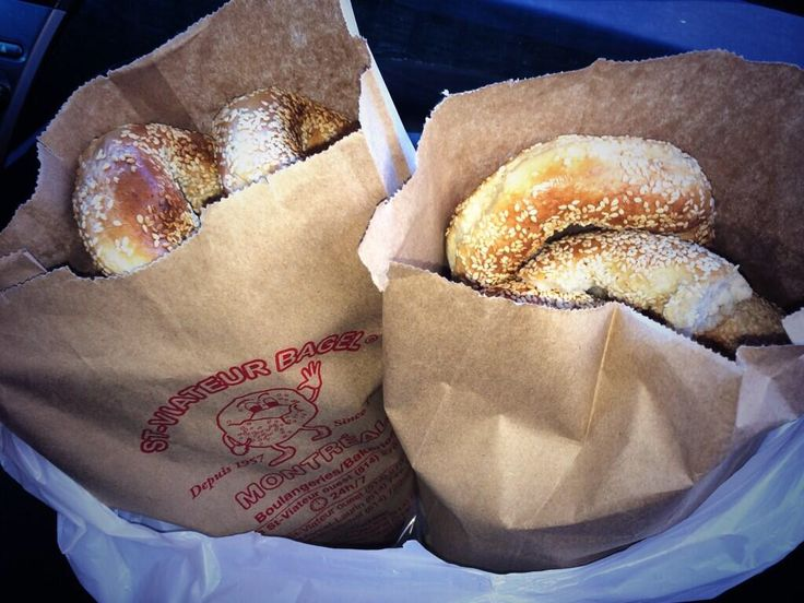 St-Viateur Bagels, the best bagels in Montreal!