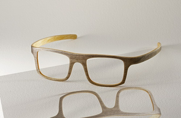 A wooden eyewear? Why not! Finnish KraaKraa Eyewear makes eyeglass frames of furniture industry surplus materials.
