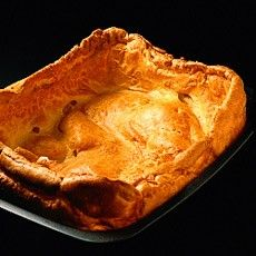 Yorkshire Pudding - Haven't made one of these in years!  must do with the next roast.