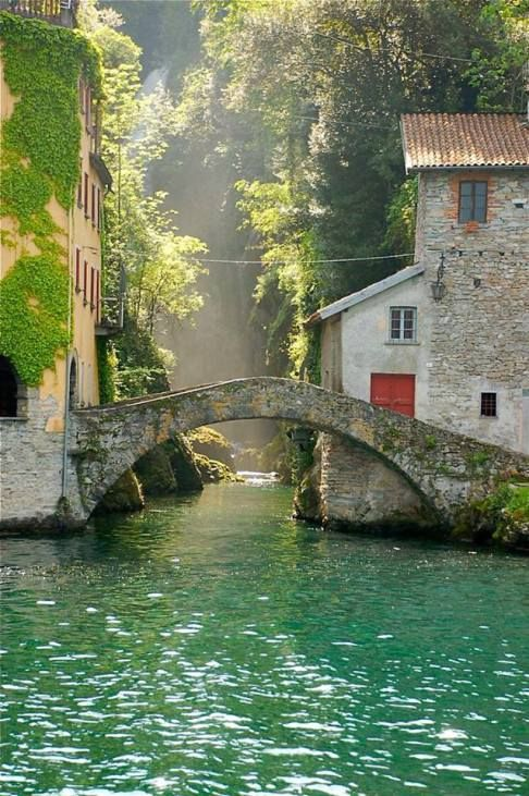 Photo credit unknown.  Nesso, Italy