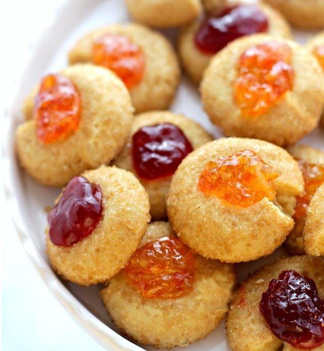 Na Cozinha da Margô: Biscoitinhos de Açúcar Mascavo e Geleia