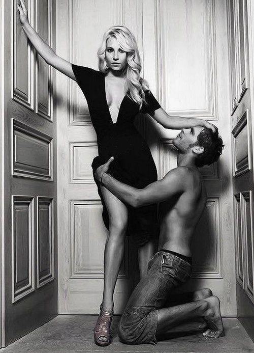Candice Accola & Joseph Morgan (Klaus and Caroline) **The Vampire Diaries and The Originals
