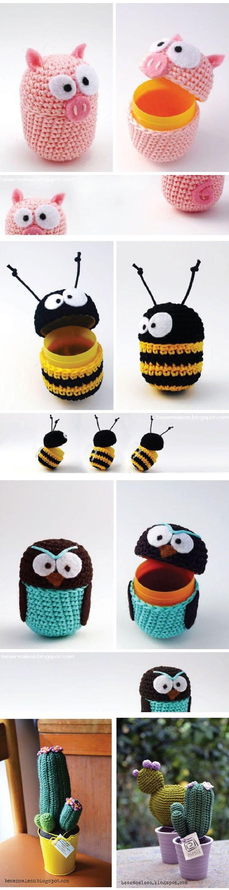 Crocheted Capsule Creatures