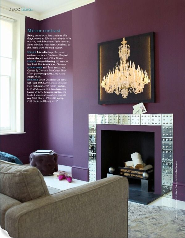 Best Plum Room Ideas On Pinterest Living Room Colour