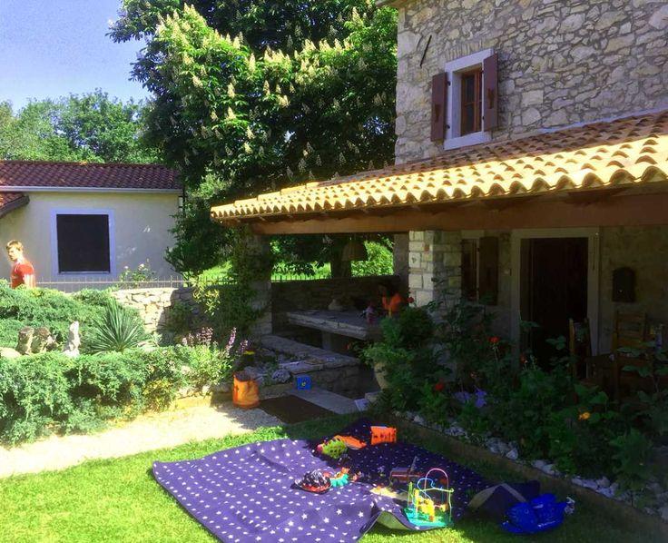 Unser Ferienhaus über Novatours #novatours #istrienmitkindern #istrienmitbaby
