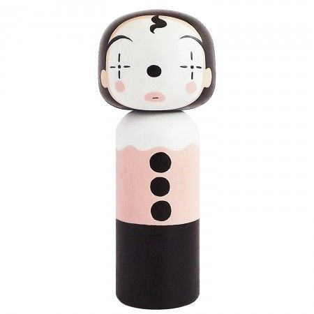 Kokeshi Puppe Clown, Lucie Kaas