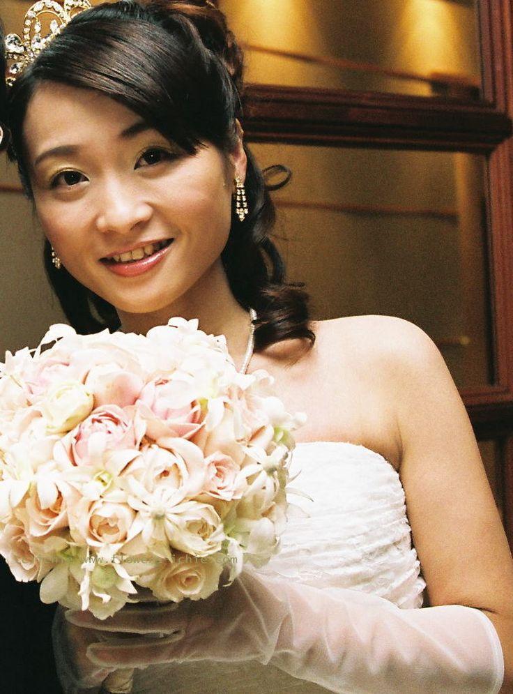 川越氷川神社の新婦様 自作のウエルカムボード : 一会 ウエディングの花