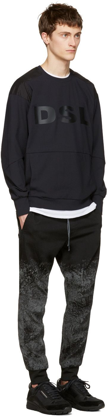 Diesel - Black X Collection Mo-S-Cody DSL Pullover