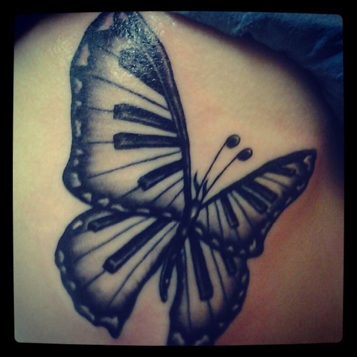 My grandmother was obsessed with butterflies and she taught me how to play piano at a young age, when she passed away this idea just came to me and stuck with me until I finally made it real.