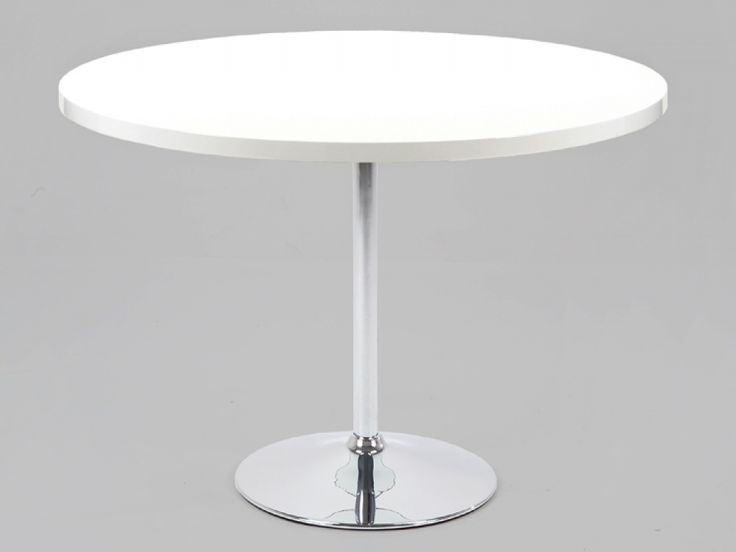 Amazing White Round Table Part - 4: Image For White Round Dining Tables For 6