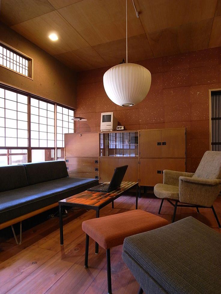 築50年の古民家をリノベーションした我が家です。内覧時は土足のままでした   宮田一彦アトリエ