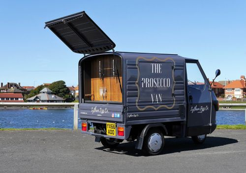 Mobile Bar & Prosecco Van - Lytham Fizz www.lythamfizz.co.uk