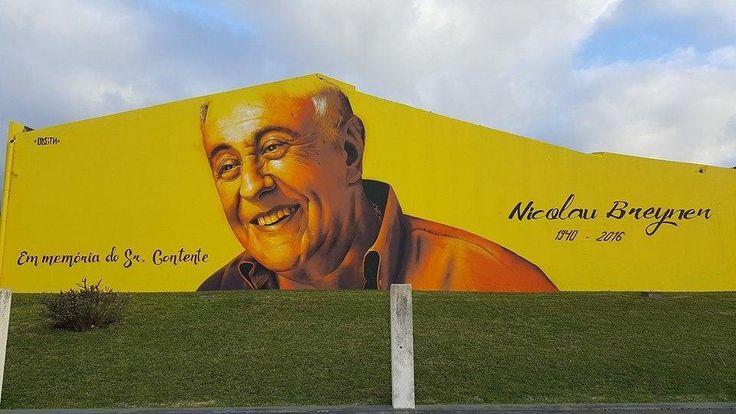 """tschelovek_graffiti: """"#nicolaubreyner от @odeith в Рибейра-Гранде (Азорские острова Португалия). #odeith #graffitiportugal #portugalgraffiti #portugalstreetart #streetartportugal #граффити_tschelovek #streetart #urbanart #graffiti #mural #стритарт #граффити #wallart #graffitiart #art #paint #painting #artederua #grafite #arteurbana #wall #artwork #graff #artist #graffiticulture #graffitiwall #streetart_daily #streetarteverywhere"""""""