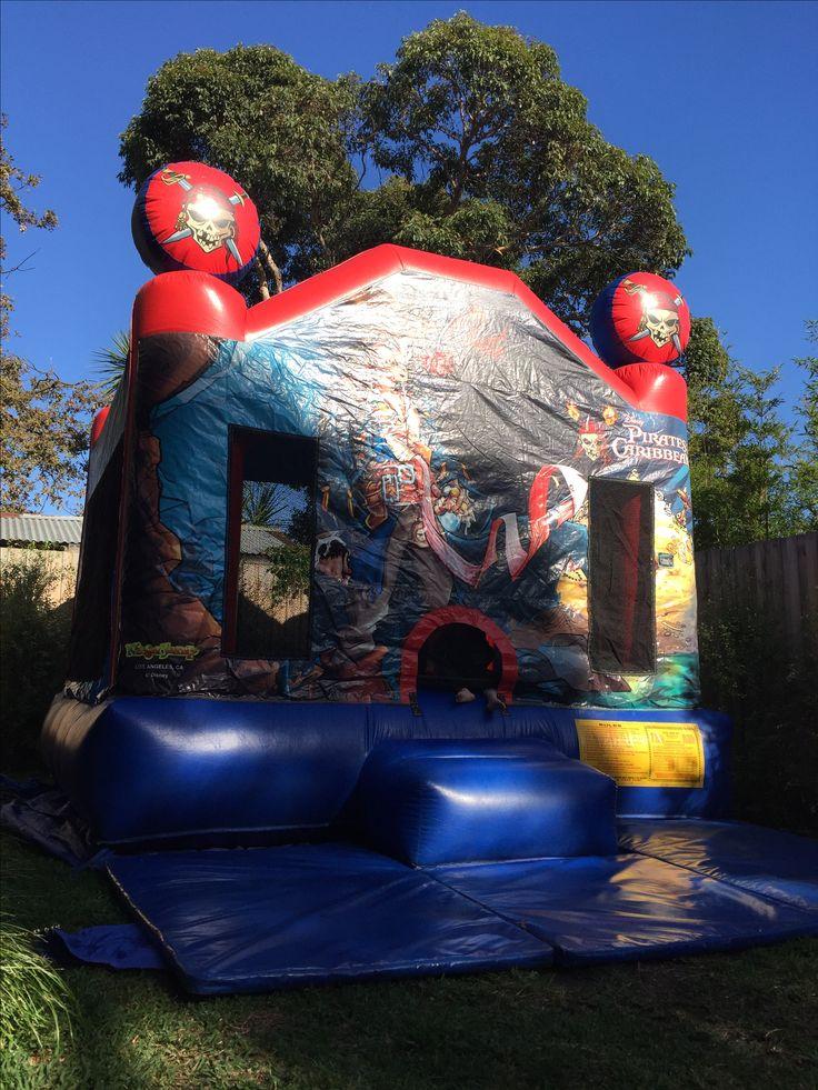 Pirate jumping castle Jumping castle hire Melbourne www.bongobounce.com.au