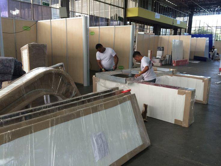 Alquiler de stands ? Estamos en Expomineria Medellín montaje de eventos TODO LLANTAS whatsapp 3004943578. Cartagena Colombia
