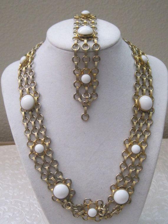 74 best Vintage Jewelry Sets images on Pinterest Vintage jewellery