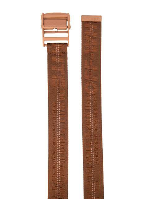 3532db5cdf4e Off-White Brand Embroidery Belt - Farfetch