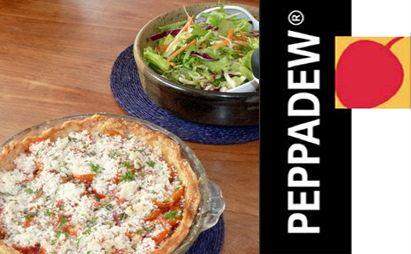 Red Pepper and Peppadew® Tart