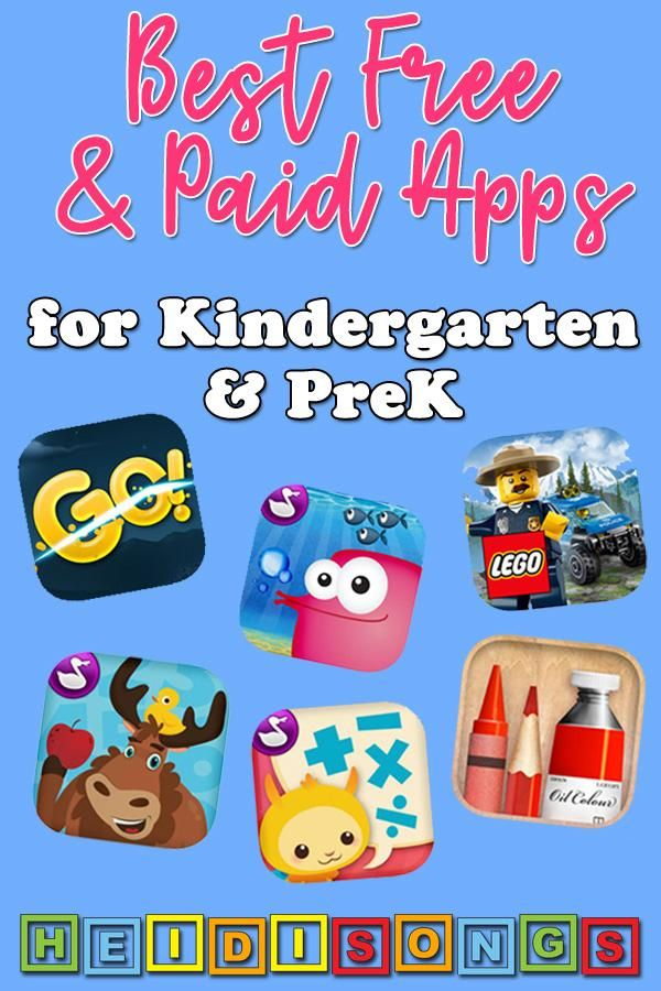 Best Free And Paid Apps For Kindergarten Prek Kindergarten Learning Apps Free Learning Apps Preschool Learning Apps What are best preschool apps