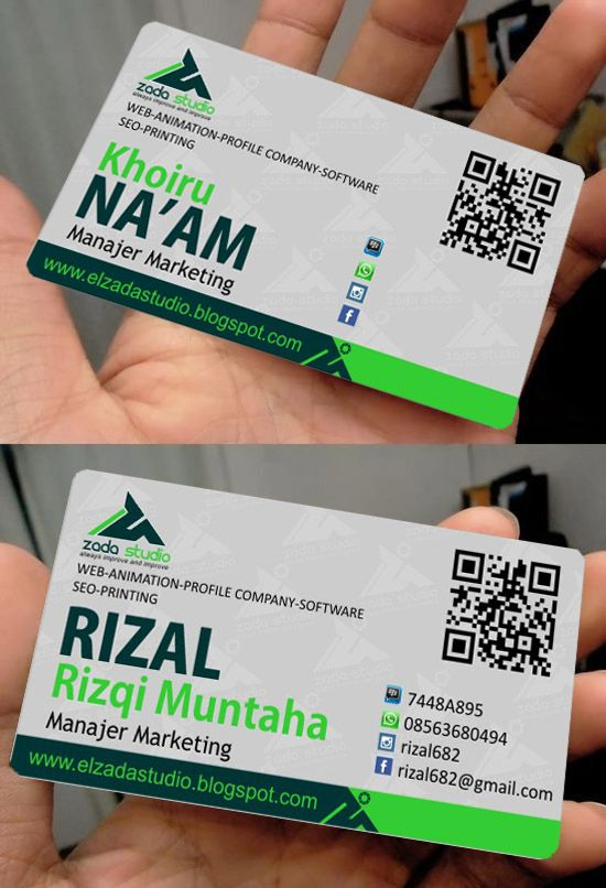 Card for multimedia company