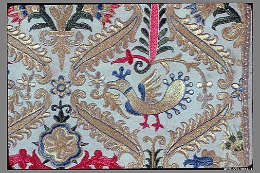 Half of a pillow cover - 18th century - Crete