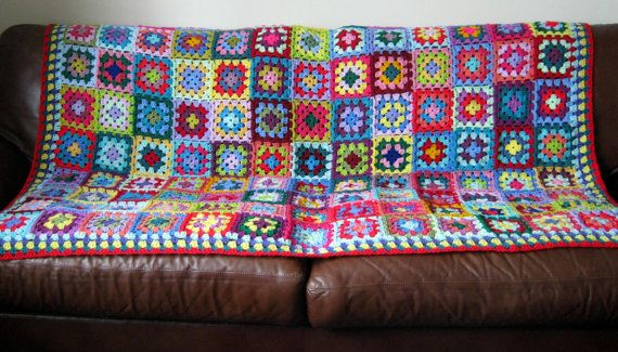 Check out this item in my Etsy shop https://www.etsy.com/uk/listing/185169097/granny-squares-blanket-afghan-crocheted