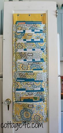 In lieu of another file cabinet, this would be great for keeping current projects organized and easily accessible.