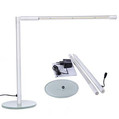 Gradual Dimmable LED 48 SMD 5W Desk Reading Lamp Light (White, Warm White,