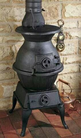 Pot bellied stove for the wood working shed.  I think this is the one!