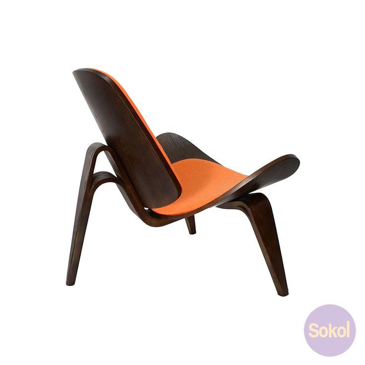 Replica Hans Wegner Shell Chair   Premium Cashmere | Sokol Designer  Furniture | New Furniture For New House | Pinterest | Hans Wegner, Shell  And Side Chair