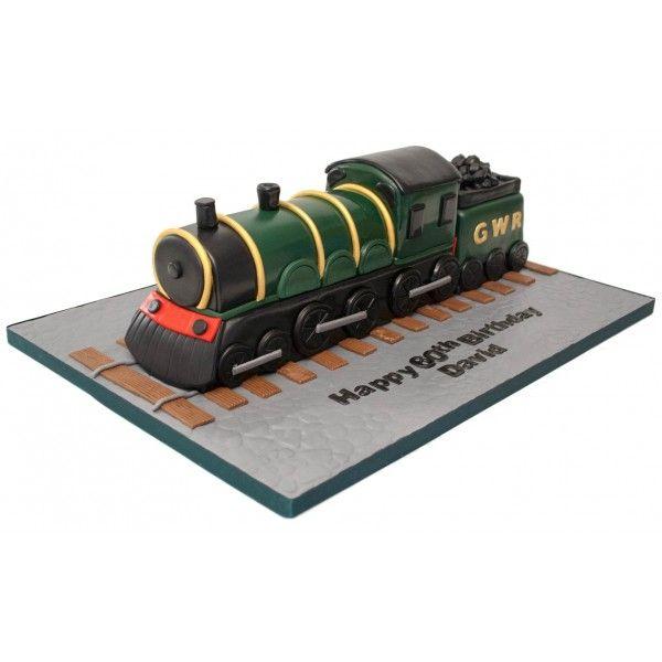 How To Make A Steam Train Cake Topper
