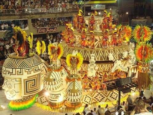 1. El carnaval de Rio de Janeiro, Brasil - Proporcionado por Webedia SAS