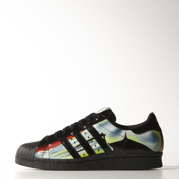 "Rita Ora x adidas Originals O-Ray Superstar ""X-Ray"" Thermal Graphic Shoes"