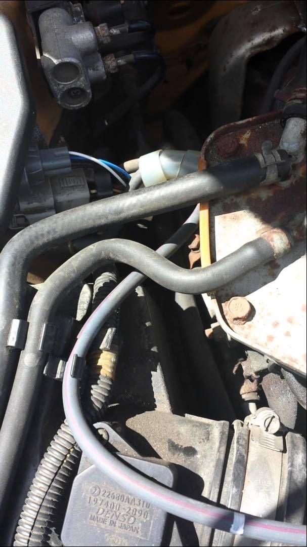 2003 Subaru wrx wagon evap hose how to