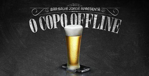 Copo Offline: em favor do relacionamento humano http://vinnyamaral.tumblr.com/post/51771680848/copo-offline-em-favor-do-relacionamento-humano
