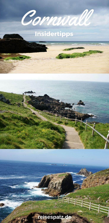 Reiseroute für eine Woche England. Tipps für Sehenswürdigkeiten in Cornwall und Süd-England
