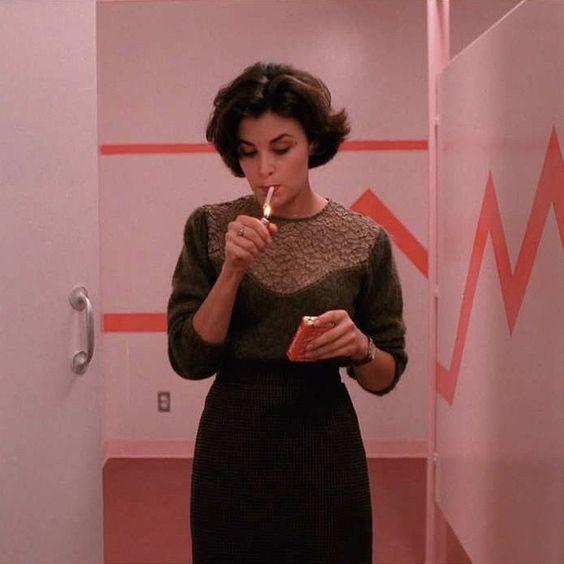 Audrey Horne's style in Twin Peaks