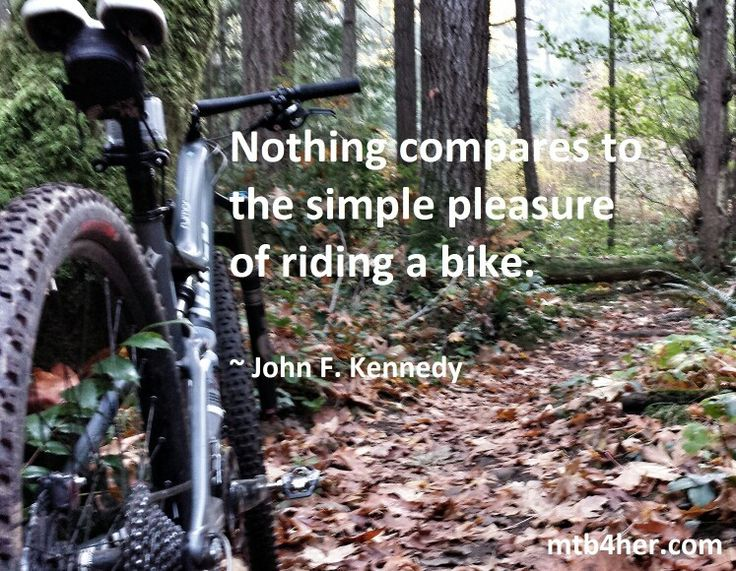 We totally agree! #mtb #mountainbike