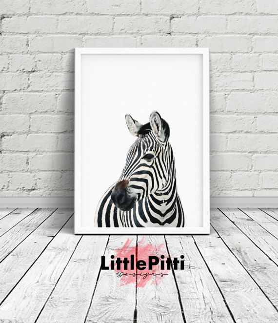 Zebra print, african animals, zebra room decor, zebra print party, jungle print, wild print, minimalist print, nursery safari print, digital