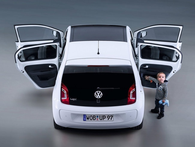 VW Up! Functional, Practical, Minimal and Efficient (Bluemotion Technologies).