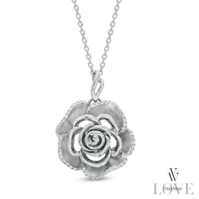 Vera Wang Love Collection 1 5 Ct T W Diamond Rose