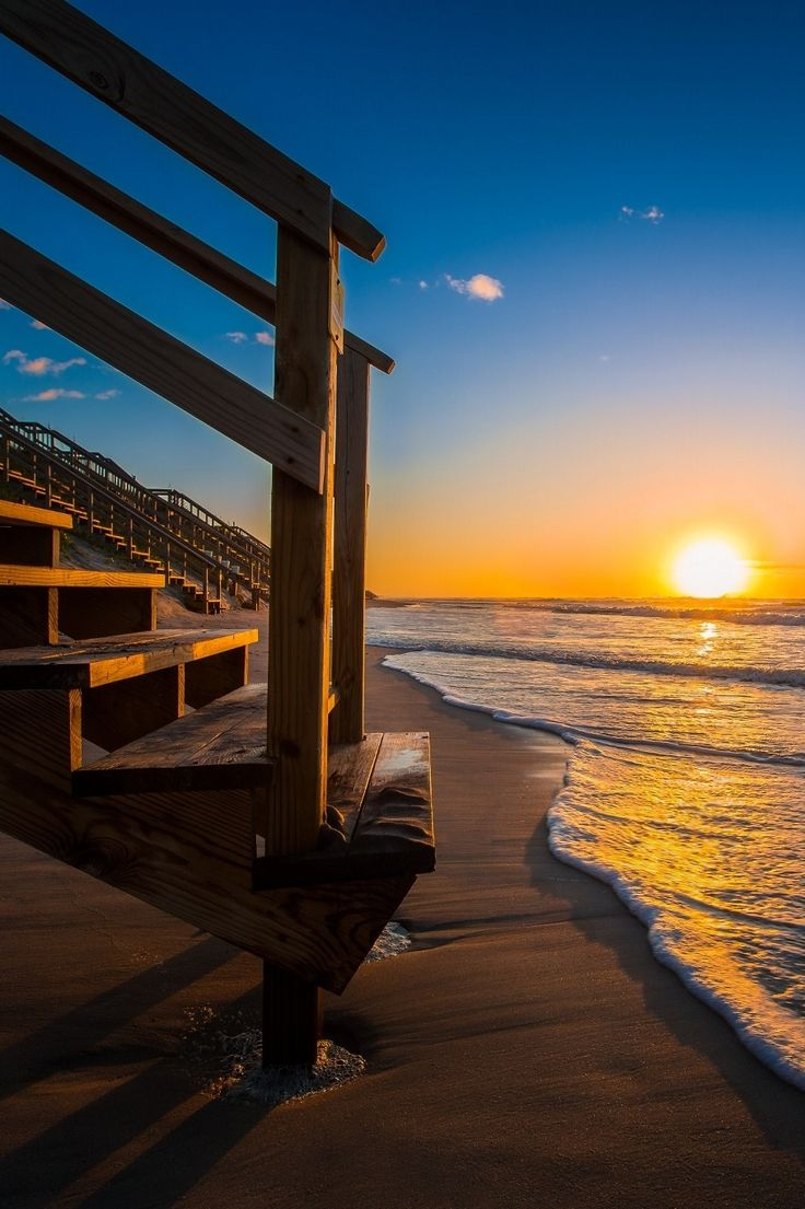 Sunrise at the Outer Banks of North Carolina, USA