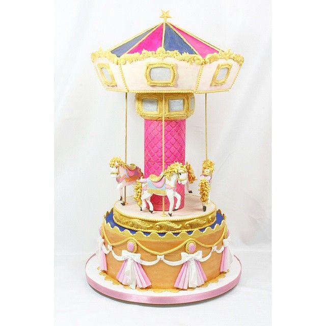 24 best carousel cakes images on pinterest carousel cake for Granny pottymouth bakes a vegan cake